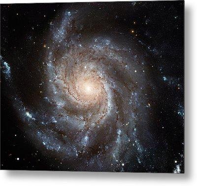 Spiral Galaxy M101 Metal Print by Nasa