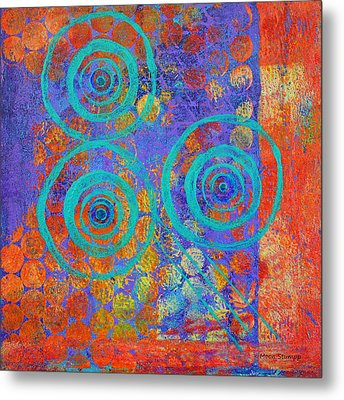 Spiral Series - Inroads Metal Print by Moon Stumpp