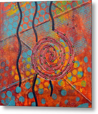 Spiral Series - Timber Metal Print