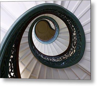 Spiral Staircase Metal Print by Randi Kuhne