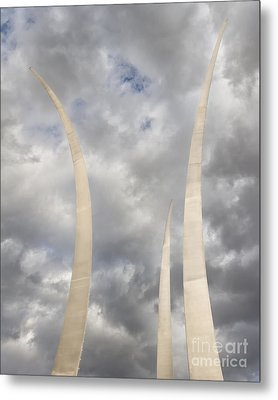 Spires Upward-2 Metal Print by Dale Nelson