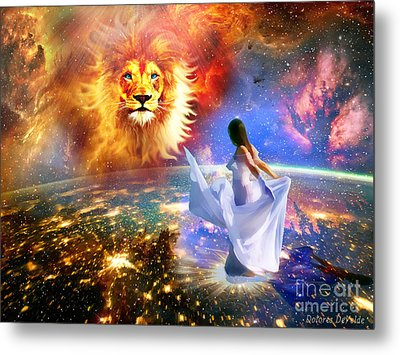 Spirit And Truth Metal Print by Dolores Develde