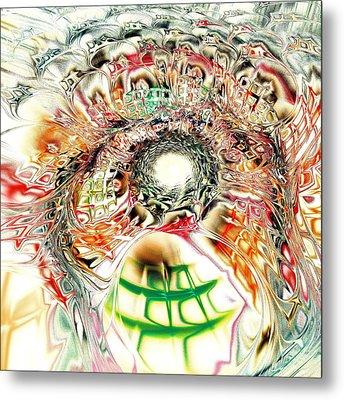 Spirit Crowd Metal Print by Anastasiya Malakhova