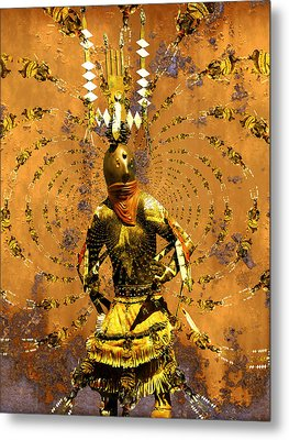 Spirit Dance Metal Print by Kurt Van Wagner