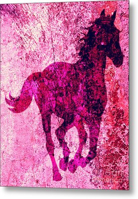 Spirit Equus  Metal Print by Mindy Bench