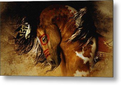 Spirit Horse Metal Print by Shanina Conway