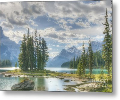 Metal Print featuring the photograph Spirit Island by Wanda Krack