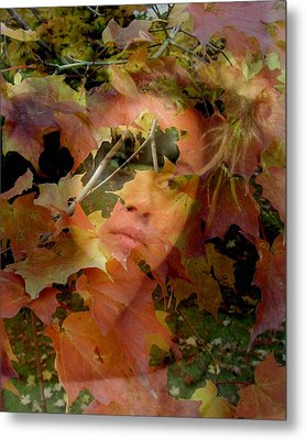 Metal Print featuring the photograph Spirit Of Autumn  by Jodie Marie Anne Richardson Traugott          aka jm-ART