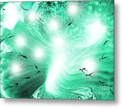 Spirit Of Creation Metal Print