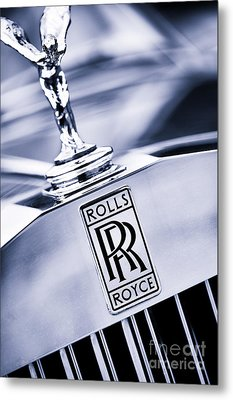 Spirit Of Ecstasy Metal Print