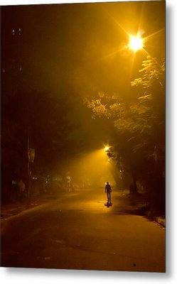 Spirit Of The Night Metal Print by Sourav Bose