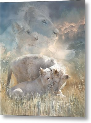 Spirits Of Innocence Metal Print by Carol Cavalaris