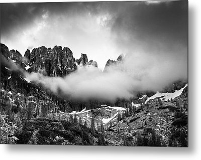 Spirits Of The Mountains Metal Print by Yuri Santin