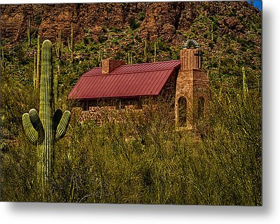 Metal Print featuring the photograph Spiritual Oasis by Mark Myhaver