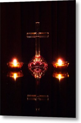 Metal Print featuring the photograph Spiritual Reflection by Jim Whalen