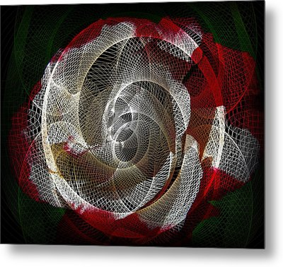 Metal Print featuring the photograph Spiro by Athala Carole Bruckner