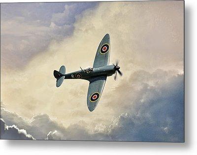 Spitfire Lf Mk Metal Print