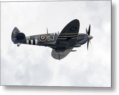 Spitfire Mk356 Metal Print by J Biggadike