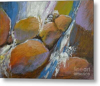Splash 4 Metal Print by Melody Cleary