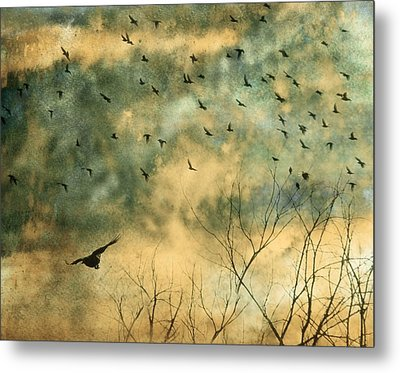 Splash Metal Print by Gothicrow Images
