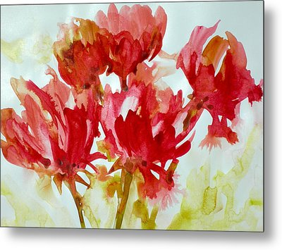 Splash Of Color Metal Print