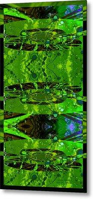 Metal Print featuring the photograph Splatter Galaxy by Robert Kernodle