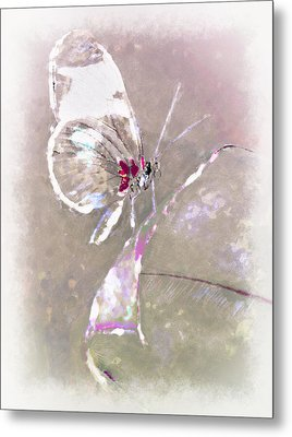 Splatter Metal Print by Jill Balsam