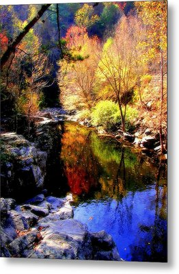 Splendor Of Autumn Metal Print