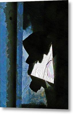 Splintered  Metal Print by Steve Taylor