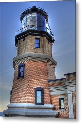 Split Rock Lighthouse Metal Print by Jimmy Ostgard
