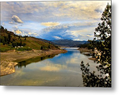 Spokane River Metal Print by Robert Bales