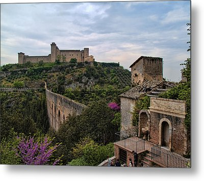 Spoleto And The Appian Way Metal Print by Hugh Smith