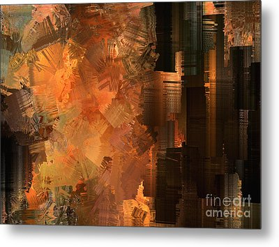 Spontaneous Combustion Metal Print by Sydne Archambault