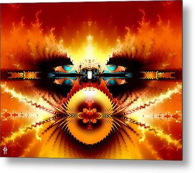 Starship Hades Nc 666 Metal Print