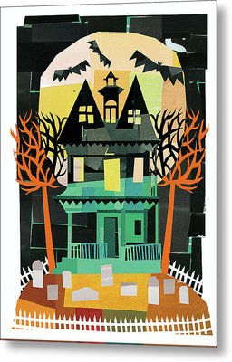 Spooks II Metal Print by Michael Mullan