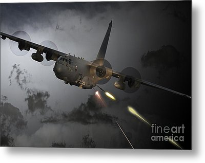 'spooky' Metal Print by J Biggadike