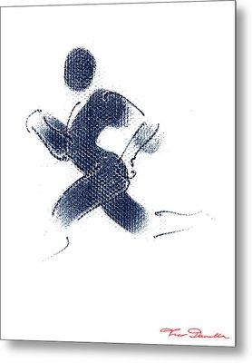 Sport A 1 Metal Print by Theo Danella