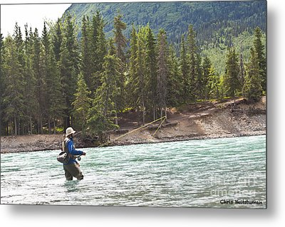 Sport Fishing Metal Print by Chris Heitstuman