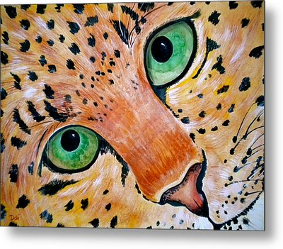 Spotted Metal Print by Debi Starr