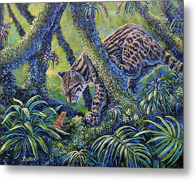 Spotted Metal Print by Gail Butler