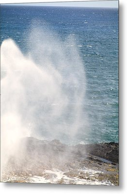 Metal Print featuring the photograph Spouting Horn II by Alohi Fujimoto