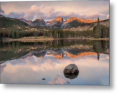 Sprague Lake Sunrise 2 Metal Print by Lee Kirchhevel