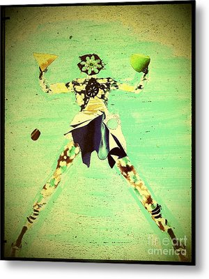Spread Eagle Metal Print