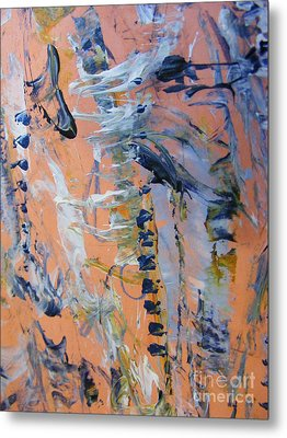 Metal Print featuring the painting Spring 0 by Nancy Kane Chapman