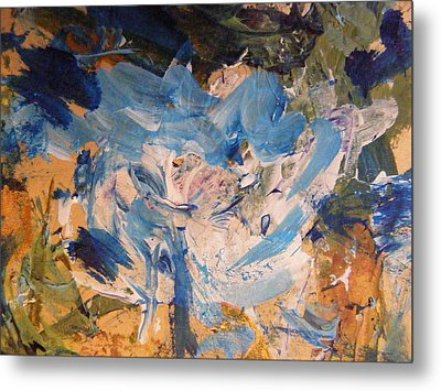 Metal Print featuring the painting Spring 1 by Nancy Kane Chapman