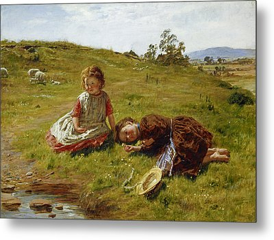 Spring Metal Print by William McTaggart