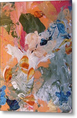 Metal Print featuring the painting Spring 2 by Nancy Kane Chapman