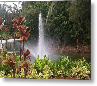 Metal Print featuring the photograph Spring by Alohi Fujimoto