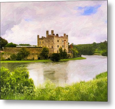 Spring At Leeds Castle Metal Print by Mark E Tisdale
