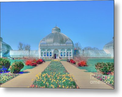 Spring At The Gardens Metal Print by Kathleen Struckle